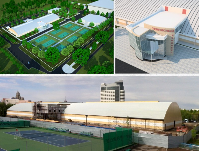 NATIONAL TENNIS ACADEMY  ASTANA, KAZAHSTAN